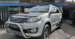 2015 TOYOTA FORTUNER 3.0 D4D 4×2 AUTO EPIC PACK